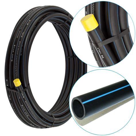 pe rohr 50 mm pe hd rohr 216 20 25 32 40 50 63 mm kunststoff wasserleitung trinkwasser ebay