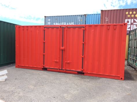 Container Modification Brisbane by Side Opening Shipping Container Tiger Containers