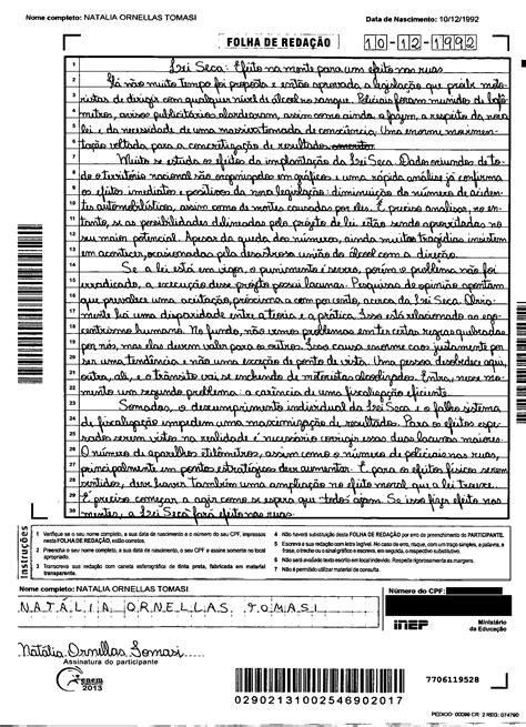 exame do enem 2014