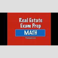 Real Estate Exam Math  Capitalization Rate #3 Youtube