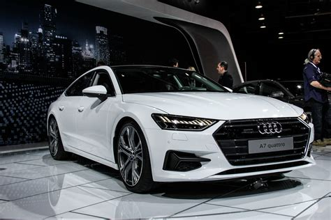 2018 Detroit Auto Show Secondgen Audi A7 Hits American