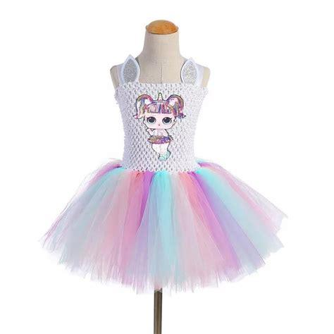 surprise doll diva lol tutu dress gown girls toddler kids