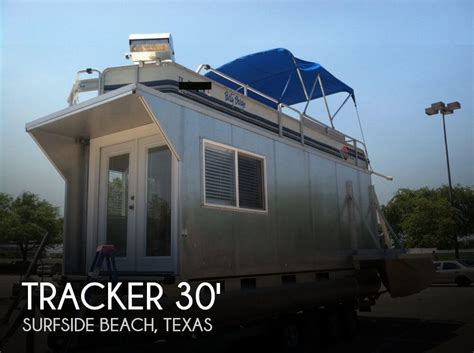 Boat House Grill For Sale by Tracker 24 Custom Houseboat For Sale In Surfside Tx