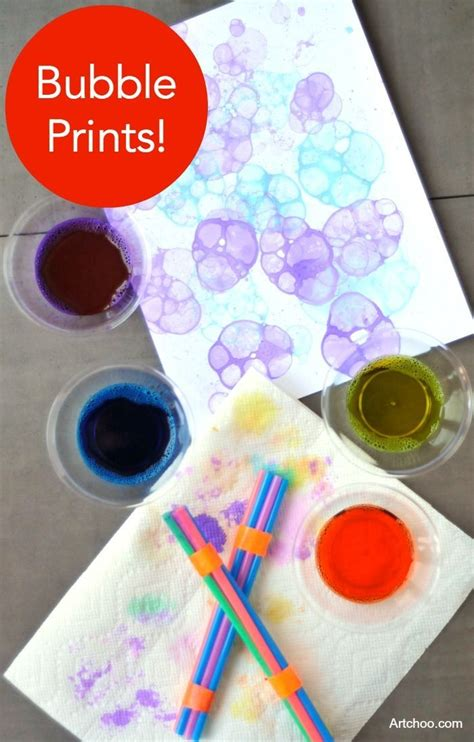 1000+ Ideas About Bubble Crafts On Pinterest  Food Coloring Crafts, Bubble Art And Fun Art