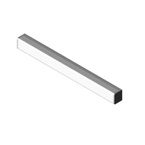 light wall mounted hp series linear coronet 3d model