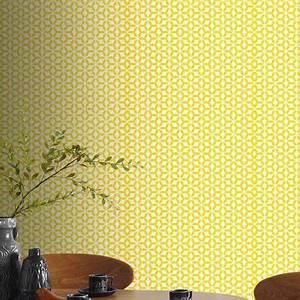 Le Papier Peint Jaune : papier peint vinyle grain intiss helice jaune castorama ~ Zukunftsfamilie.com Idées de Décoration