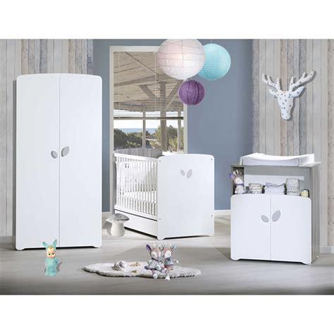 commode et armoire bebe chambre b 233 b 233 trio leaf lit 60x120cm commode armoire de