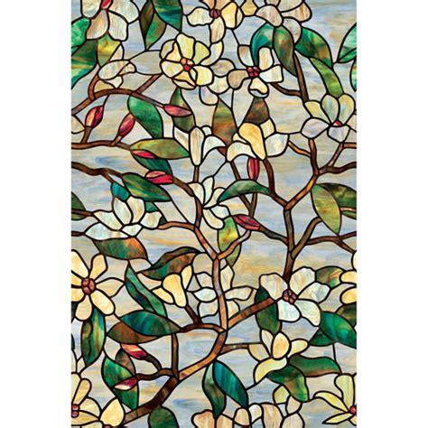 Artscape Magnolia Decorative Window by Artscape Summer Magnolia Decorative Window Walmart