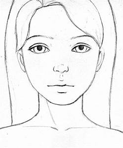 Easy Faces To Draw Kat Can Paint   Let's Draw! Glamorous ...