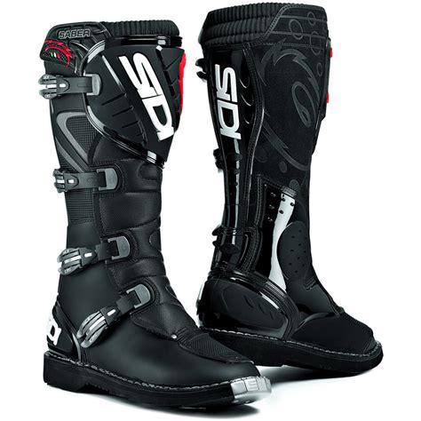 mx boots sidi saber mx enduro off road steel toe motocross dirt