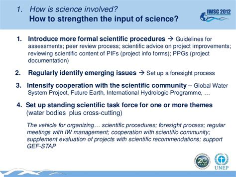 "Keynote Address ""setting The Science-based Agenda For"