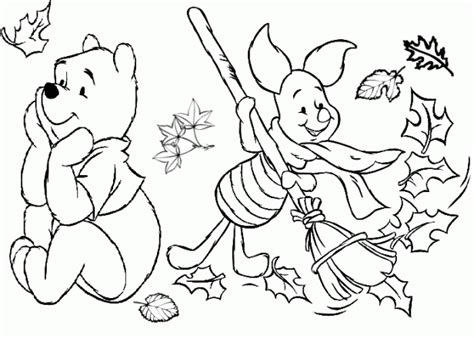 Free Disney Thanksgiving Coloring Pages Sunrise In