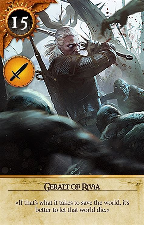 All opponents can be found during quests and they are strictly related to the stories. GitHub - matt77hias/Gwent: Gwent cards of the Witcher 3: Wild Hunt