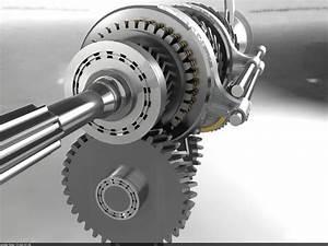 Manual Transmission Mechanism Automobile 3d Model