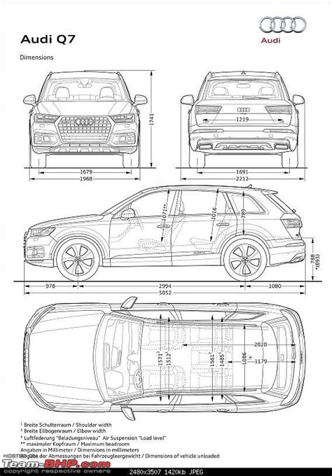 Audi Q7 Interior Dimensions by Length Of 2017 Audi Q7 Best New Cars For 2018