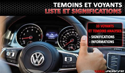 voyant tableau de bord volkswagen les voyants ou t 233 moins lumineux du tableau de bord de nos volkswagen et audi ainsi que leurs
