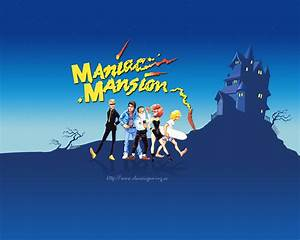 3 Maniac Mansion HD Wallpapers Background Images