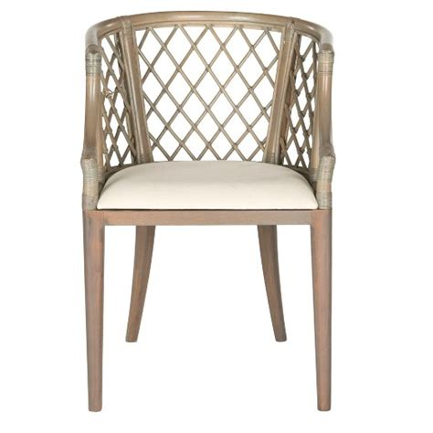 dining chair wood light gray safavieh 174 target