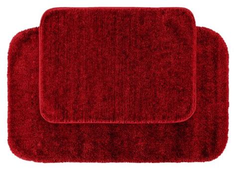 garland rug 2 piece traditional nylon washable bathroom