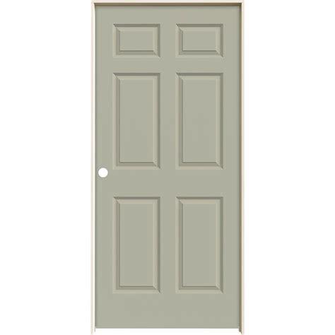 home depot jeld wen interior doors jeld wen 36 in x 80 in molded smooth 6 panel desert sand
