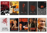10 pcs/lot Bruce Willis DIE HARD Series Movie Poster ...