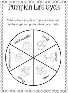 Life Cycle Of A Pumpkin Sequencing Worksheet by Pumpkin Life Cycle Coloring Pages Printable Sketch