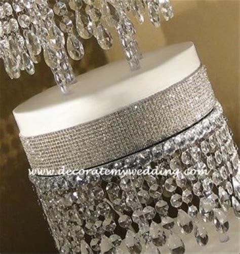 crystal wedding cake stand tradesy weddings