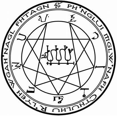 Symbols Magic Cthulhu Lovecraft Nyarlathotep Occult Mythos