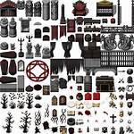 Rpg Maker Tileset Mv Vx Gothic Dungeon