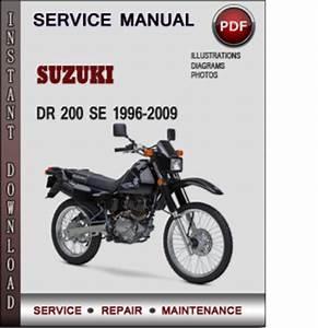 Suzuki Dr 200 Se 1996