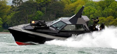 Types Of Rescue Boats by Barracuda Is Supposedly The Stealthy Interceptor Boat The
