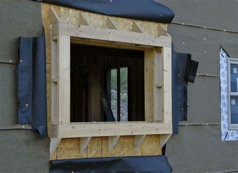 window bump  framing house windows bay windows