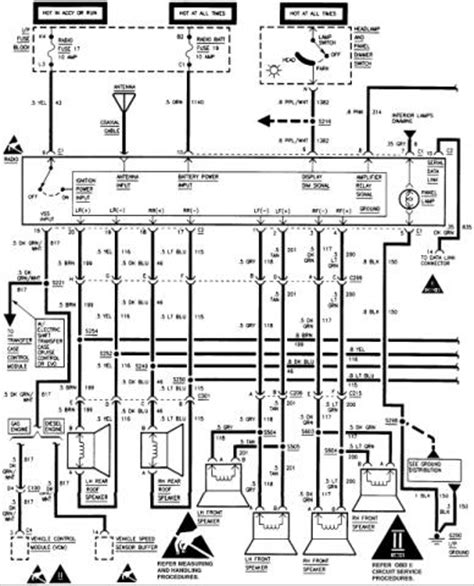 Stereo Wiring Diagram Help Chevrolet Forum Chevy