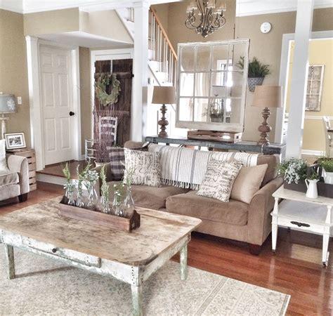 chic details  cozy rustic living room decor usa home