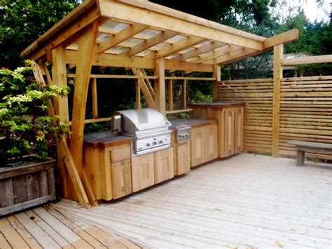 ideas  outdoor kitchen plans theydesignnet