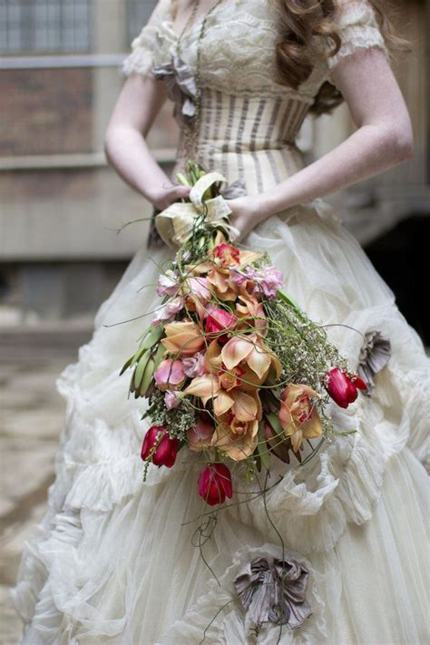 Steampunk Themed Wedding Best Bouquets Steampunk