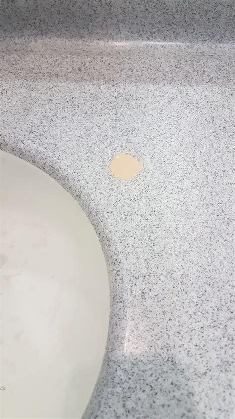 Corian Repair Corian Repairs To Mask Tap Holes Bespoke Repairs