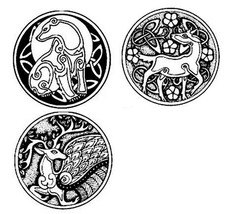 Celtic bear, goat, deer   Celtic animals, Celtic bear ...