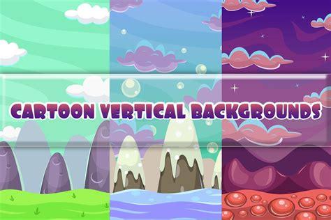Free Cartoon Vertical Game Backgrounds Craftpixnet