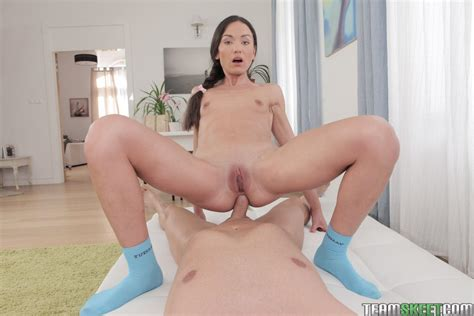 Brunette Girl Nataly Gold Gets Her Tight Ass Fucked Coed