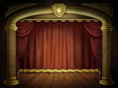 Stage Background Powerpoint Backgrounds Ppt Presentation Film