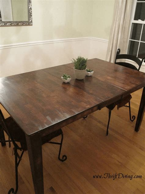 diy rustic dining table colossal diy fail or rustic dining room table