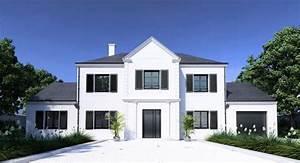 les fenetres de couleur noir les cles de la maison With couleur facade maison contemporaine 9 maison moderne grise