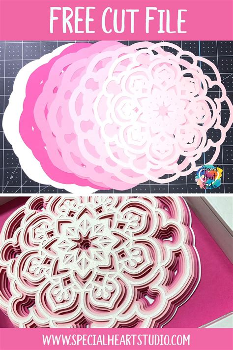 5 out of 5 stars. FREE Layered Mandala SVG Cut File - Paper Quilling Designs ...