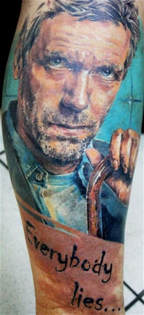lies dr house tattoos pinterest
