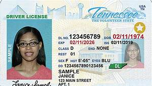 Tennessee Real ... Real Id
