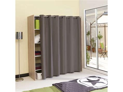 dressing extensible avec rideau vente de armoire colonne 233 tag 232 re conforama