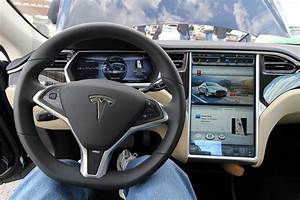 2013 Tesla Model S interior   I was very fortunate that the …   Flickr