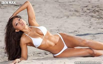 Natasha Yi Bikini Models Magazine Fitness Iron