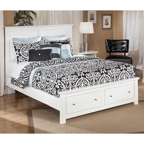 shoals furniture bostwick shoals storage bed signature design furniture cart